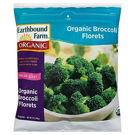 Earthbound Farm Organic Broccoli Florets - 2 Lb