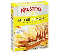 Krusteaz Pound Cake Mix Meyer Lemon - 16.5 Oz