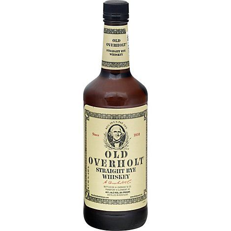 Old Overholt Straight Rye Whiskey 80 Proof - 750 Ml