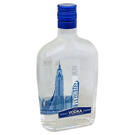 New Amsterdam Vodka 80 Proof - 375 Ml