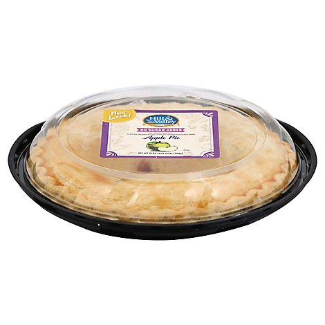 Bakery Pie 8 Inch No Sugar Added Apple - Each