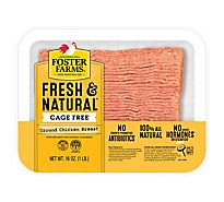 Foster Farms Chicken Ground Chicken - 16 Oz