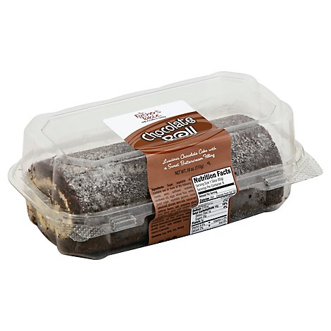 The Fathers Table Cake Roll Chocolate - 18 Oz