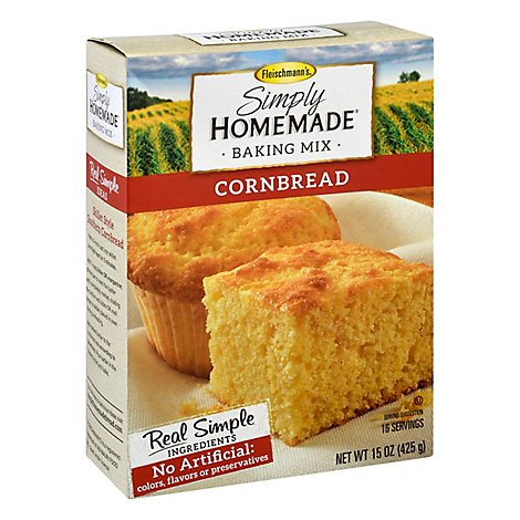 Fleischmanns Simply Homemade Baking Mix Cornbread - 15 Oz