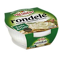 President Rondele Spreadable Cheese Garlic & Herbs - 6.5 Oz.