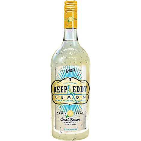 Deep Eddy Vodka Lemon Flavored 70 Proof - 750 Ml