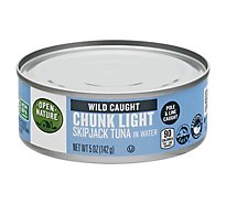 Open Nature Tuna Chunk Light in Water - 5 Oz