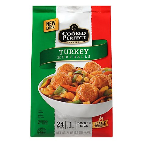 Turkey Meatballs - 24 Oz