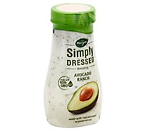 Marzetti Simply Dressed Dressing Avocado Ranch - 12 Fl. Oz.