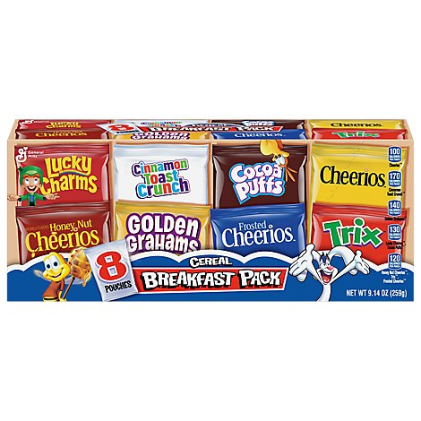 General Mills Cereal Variety Pack - 9.14 Oz