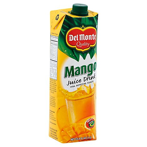 Del Monte Mango Juice Large - 33.3 Fl. Oz.