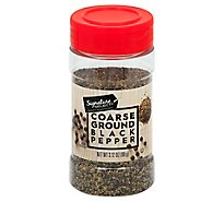 Signature SELECT Black Pepper Ground Coarse - 3.12 Oz