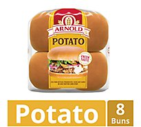 Arnold Buns Sandwich Country Potato 8 Count - 16 Oz