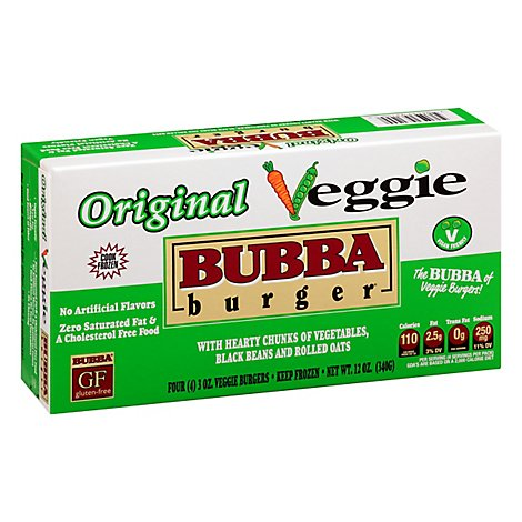 Bubba Burger Veggie - 4-3 Oz