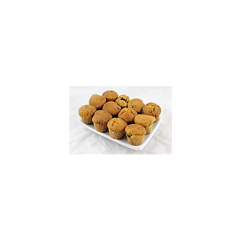 Bakery Cupcake Mini Gold 12 Count - Each