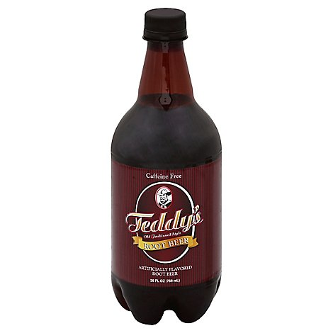 Teddys Root Beer Old Fashioned Caffeine Free - 26 Fl. Oz.