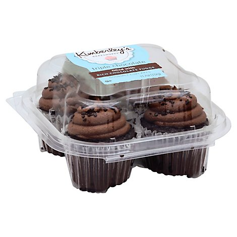 Kimberleys Cupcake Triple Chocolate - Each