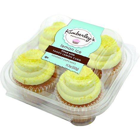 Kimberleys Cupcake Lemon - Each