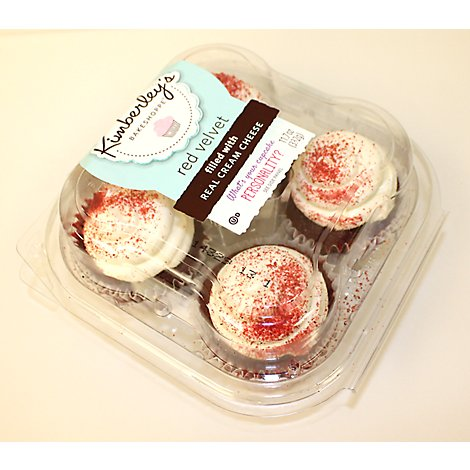 Kimberleys Cupcake Red Velvet - Each