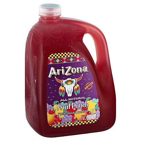 AriZona Fruit Punch Fruit Juice Cocktail - 128 Fl. Oz.