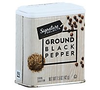Signature SELECT/Kitchens Black Pepper Ground - 1.5 Oz