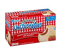 Smuckers Uncrustables Sandwiches Peanut Butter & Strawberry Jam - 15-2 Oz