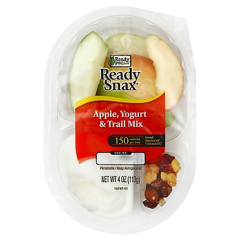Ready Pac Ready Snax Apple Slices With Yogurt Covered Trail Mix - 4 Oz