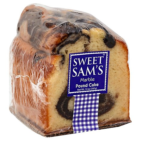 Sweet Sams Cake Pound Marble - Each
