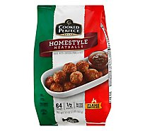 Cooked Perfect Homestyle Bite Size Meatballs - 32 Oz.