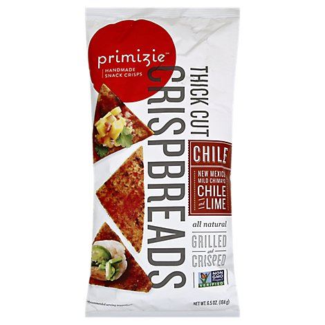 Primizie Crispbreads Chili And Lime - 6.5 Oz