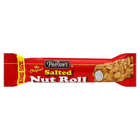 Pearsons Nut Roll Salted The Original King Size - 3.25 Oz