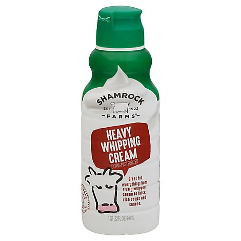 Shamrock Farms Heavy Whipping Cream 1 Quart - 946 Ml