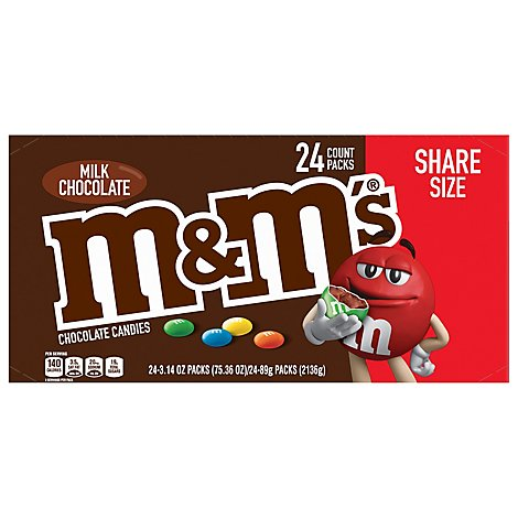 M&Ms Chocolate Candies Milk Chocolate Crispy - 3.14 Oz