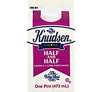 Knudsen Half And Half - 16 Fl. Oz.