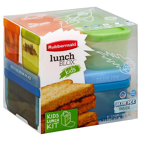 Rubbermaid Lunchblox Kids Boy - Each