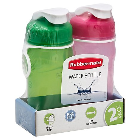Rubbermaid Water Bottle 2 Pack - 2 Count