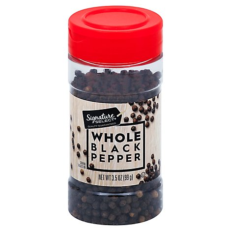 Signature SELECT Black Pepper Whole - 3.5 Oz