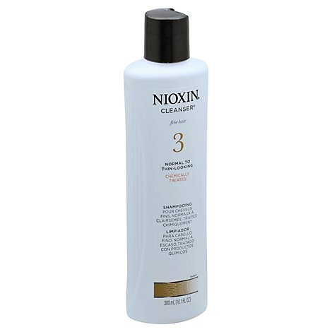 Nioxin Cleanser Fine Hair Normal To Thin-Looking 3 - 10.1 Fl. Oz.