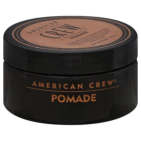 American Crew Pomade with Medium Hold and High Shine - 3 Oz