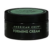 American Crew Male Fundamentals Forming Cream with Medium Hold and Shine - 3 Oz