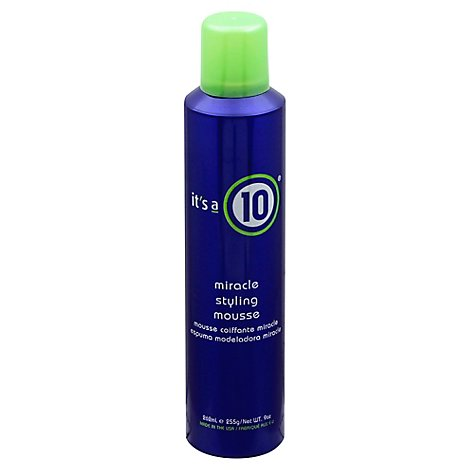 Its A 10 Miracle Styling Mousse - 9 Oz
