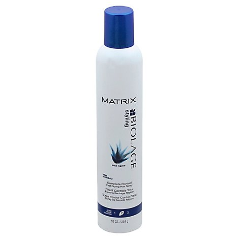 Biolage Styling Blue Agave Hairspray Complete Control Fast-Drying Hold 2 - 10 Fl. Oz.