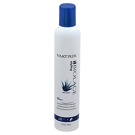 Biolage Styling Blue Agave Hairspray Freeze Fix Anti-Humidity Hold 3 - 10 Fl. Oz.