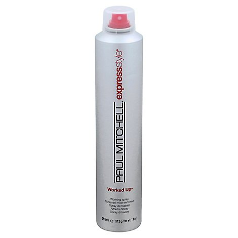 Paul Mitchell Worked Up Hair Spray - 11.0 Oz
