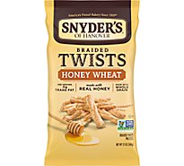 Snyders of Hanover Braided Twists Pretzels Honet Wheat - 12 Oz