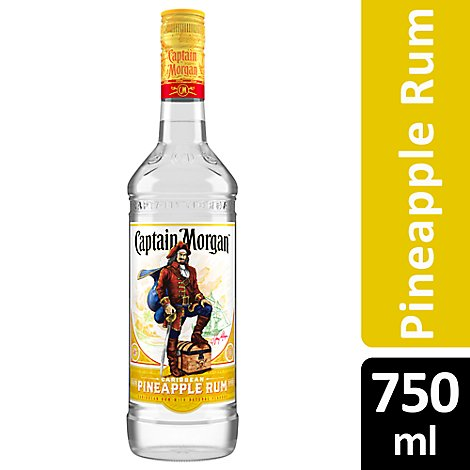 Captain Morgan Rum Pineapple 70 Proof - 750 Ml