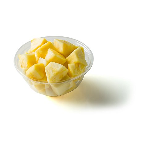 Fresh Cut Pineapple Bowl Large - 36 Oz