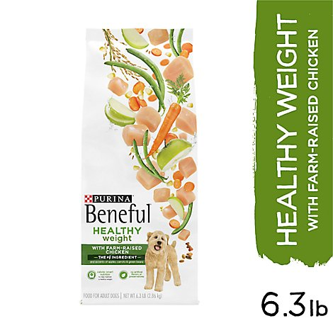 Beneful Dog Food Healthy Weight With Real Chicken Bag - 6.3 Lb