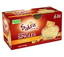 Sabra Classic Hummus Single - 6-2 Oz