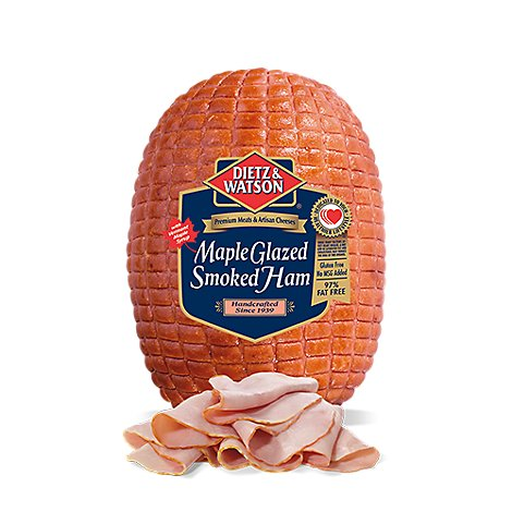 Dietz & Watson Ham Maple Cured - 0.50 LB